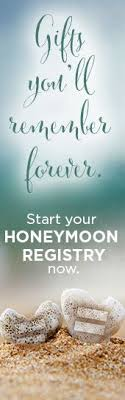 how to register for honeymoon money with today s economy couples are left with a staycation type of