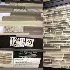 mosaic backsplash stone is same as granite countertop color st