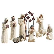 willow tree nativity 6 set of figures by susan