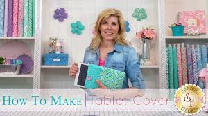 how to make a tablet cover with jennifer bosworth of shabby