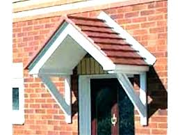 Exterior Door Awnings Front Door Awnings Wood Forexcaptain Info