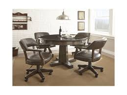 steve silver dining room sets steve silver ruby 2 in 1 round game table hudson u0027s furniture