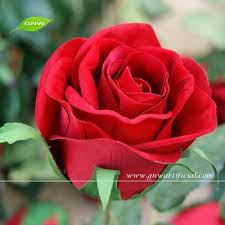 Flowers For Wedding Fls08 6 Red Rose Flower Table Wedding Decoration Artificial Real