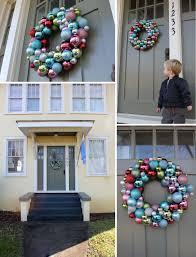 crozette shiny ball ornament wreath diy