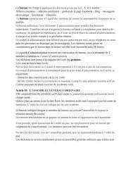 association bureau conseil d administration cuneo ventimiglia statuts et declaration de l association
