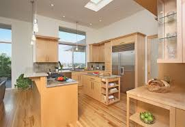 Kitchens With Maple Cabinets Kitchens With Maple Cabinets Kitchen Contemporary With Breakfast