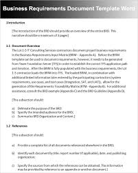 report requirements template professional templates for you part 5