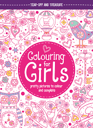 colouring girls beautiful drawings colour