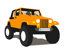 orange jeep wrangler orange clipart jeep pencil and in color orange clipart jeep