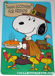 peanuts thanksgiving fall press out designs snoopy