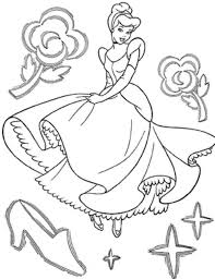 download cinderella colouring pages to print ziho coloring
