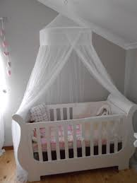 Sleigh Cot With Mosquito Net Kids Pinterest Cots Nursery