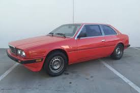 1985 maserati biturbo for sale would you want the u0027wheeler dealers u0027 electric maserati