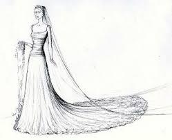 indian bridal dresses sketches