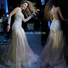 charming myriam fares celebrity dresses see through beaded