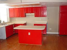 Kitchen With Red Appliances - kitchen with red cabinets modern sophisticated red kitchen