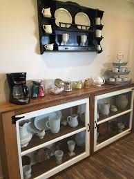 make your own buffet table how to build a buffet from old windows and reclaimed wood