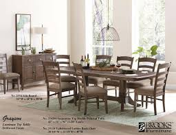 dining room sets with fabric chairs dining room