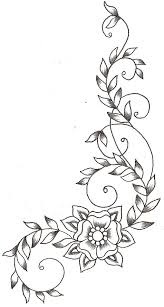 Flower Designs For Drawing 72 Best Leaves And Vines Images On Pinterest Drawings Mandalas