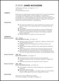 Medical Assistant Resume Template Free Free Traditional Medical Assistant Resume Template Resumenow