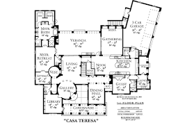 casa teresa house plan floor plans blueprints architectural