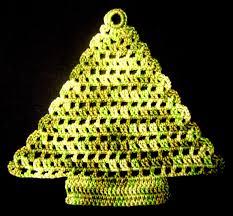 croche arvore de natal 2 natal pinterest crochet natal