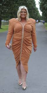 orange dress gemma collins reveals the inspiration power