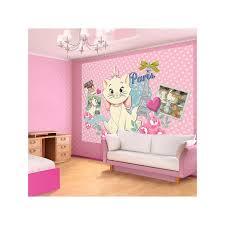 fresque chambre fille fresque murale des aristochats pour mur chambre fille