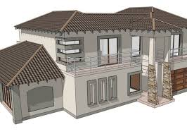 meditteranean theme double storey house designs architecture