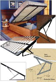 Diy Platform Queen Bed With Drawers by Woodworker Com Storage Bed Frame And Lift Kits Queen With Bed