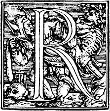 62r u2014initial capital letter u201cr u201d from dance of death alphabet