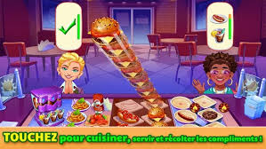 beaucoup de jeux de cuisine cooking craze jeu de cuisine applications android sur play
