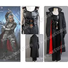 Vampire Slayer Halloween Costume Blade Wesley Snipes Vampire Slayer Coat Costume Vest Pants