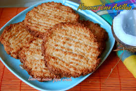 cuisine cr駮le facile macaron coco antillais sandrine cuisine façon créole