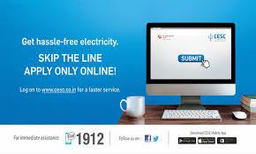 cesc power utility company u2013 new connection online ac