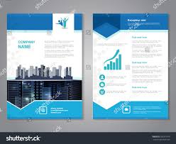 vector modern brochure abstract flyer background stock vector