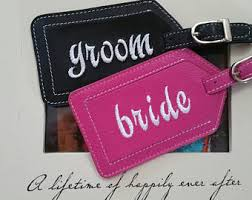 and groom luggage tags and groom leather luggage tags