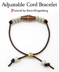 string cord bracelet images Adjustable cord bracelet tutorial jewelry making journal jpg