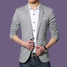 wedding dress korean 720p autumn coat style luxury business casual suit men blazers set