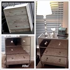 Unfinished Furniture Nightstand Bedroom Amazing Round Nightstand With Drawer Touch Nightstand