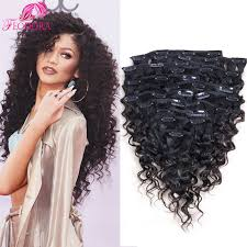 curly hair extensions clip in clip in human hair extensions curly human