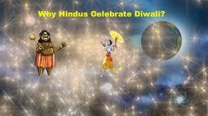 why do hindus celebrate diwali deepavali
