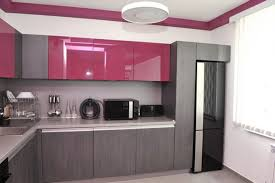 Design Kitchen For Small Space - kitchen appealing grey cabinet and black refrigerator amazing
