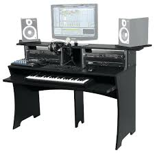 home studio bureau computer desk home recording studio sets all ideas and decor