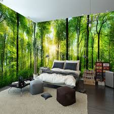 Bedroom Wall Murals by Online Get Cheap Forest Wall Mural Aliexpress Com Alibaba Group