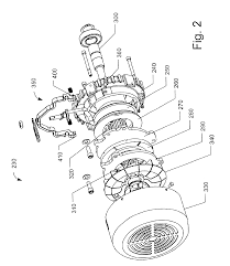patent us6781264 integral field cup and front end shield for an