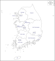 Asia Map Outline by South Korea Free Map Free Blank Map Free Outline Map Free Base