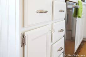 Kitchen Cabinet Supplies How To Install Cabinet Knobs With A Template In My Own Style
