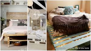 Diy Bed Frames Top 62 Recycled Pallet Bed Frames Diy Pallet Collection