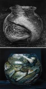 50 still life drawing ideas for art students goldfish bowl
